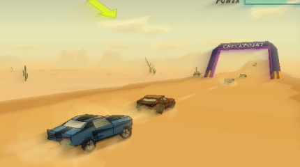 The totally mad car racing game...